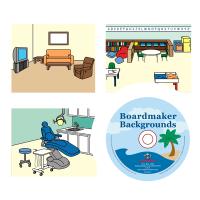 Boardmaker Backgrounds-taustakuvat