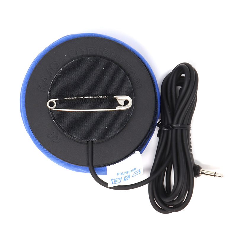 Kajo SoftButton Ability Switch with safety pin and velcro attachment